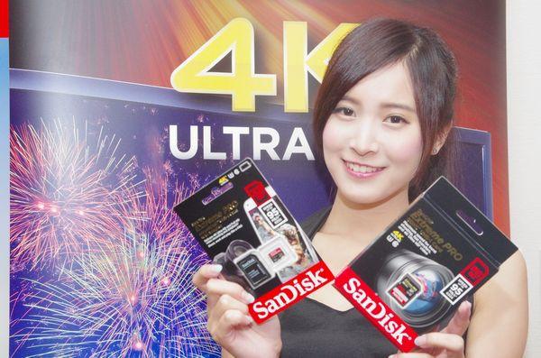 是Sandisk 在台推出針對 4K 高流量錄影之超高速大容量 512GB SDXC 卡與 64GB microSDXC 卡這篇文章的首圖