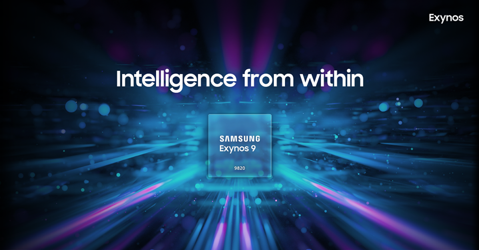 Samsung Galaxy S9, Exynos, Exynos 9820, , Samsung Group, System on a chip, Central processing unit, Samsung Galaxy Note 9, Multi-core processor, Samsung Galaxy S, exynos 9820, light, purple, computer wallpaper, technology, screenshot, graphics, midnight, energy, font, darkness