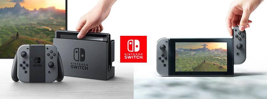 是掌機、主機二合一 任天堂新遊戲機Nintendo Switch 主打多人遊玩這篇文章的首圖
