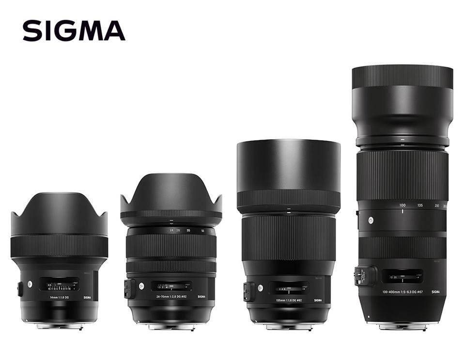 是Sigma 發表四款全片幅新鏡頭開發計畫,定焦、變焦各兩款這篇文章的首圖