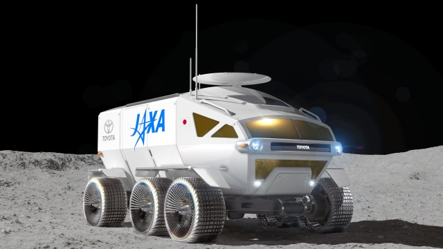 Toyota, Car, JAXA, Lunar rover, Rover, , Space, Lunar Roving Vehicle, , Moon, Rover, Vehicle, Car, Automotive design, Technology, Automotive wheel system, Armored car, Automotive tire, Wheel