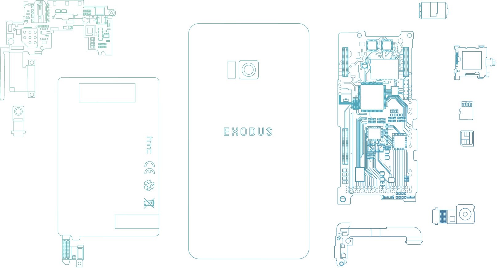 HTC One S, Blockchain, , HTC, Cryptocurrency, HTC, Smartphone, Decentralized application, Telephone, Business, htc exodus, product, product, design, technology, font, brand, pattern, diagram