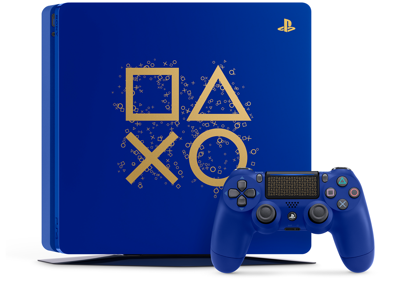 PlayStation, PlayStation 4, Sony PlayStation 4 Slim, Video Game Consoles, , , Sony, Gran Turismo Sport, Video game, PlayStation Vita, rewards passes sony, blue, product, cobalt blue, game controller, home game console accessory, technology, electric blue, video game accessory, portable game console accessory, electronics, PlayStation Store, PlayStation App