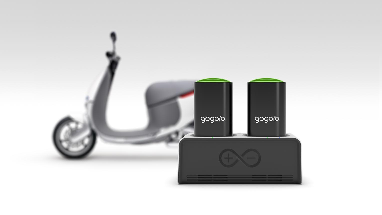 是CES 2016 :自己的 Gogoro 電池自己充, Gogoro 發表 GoCharger 智慧充電座這篇文章的首圖