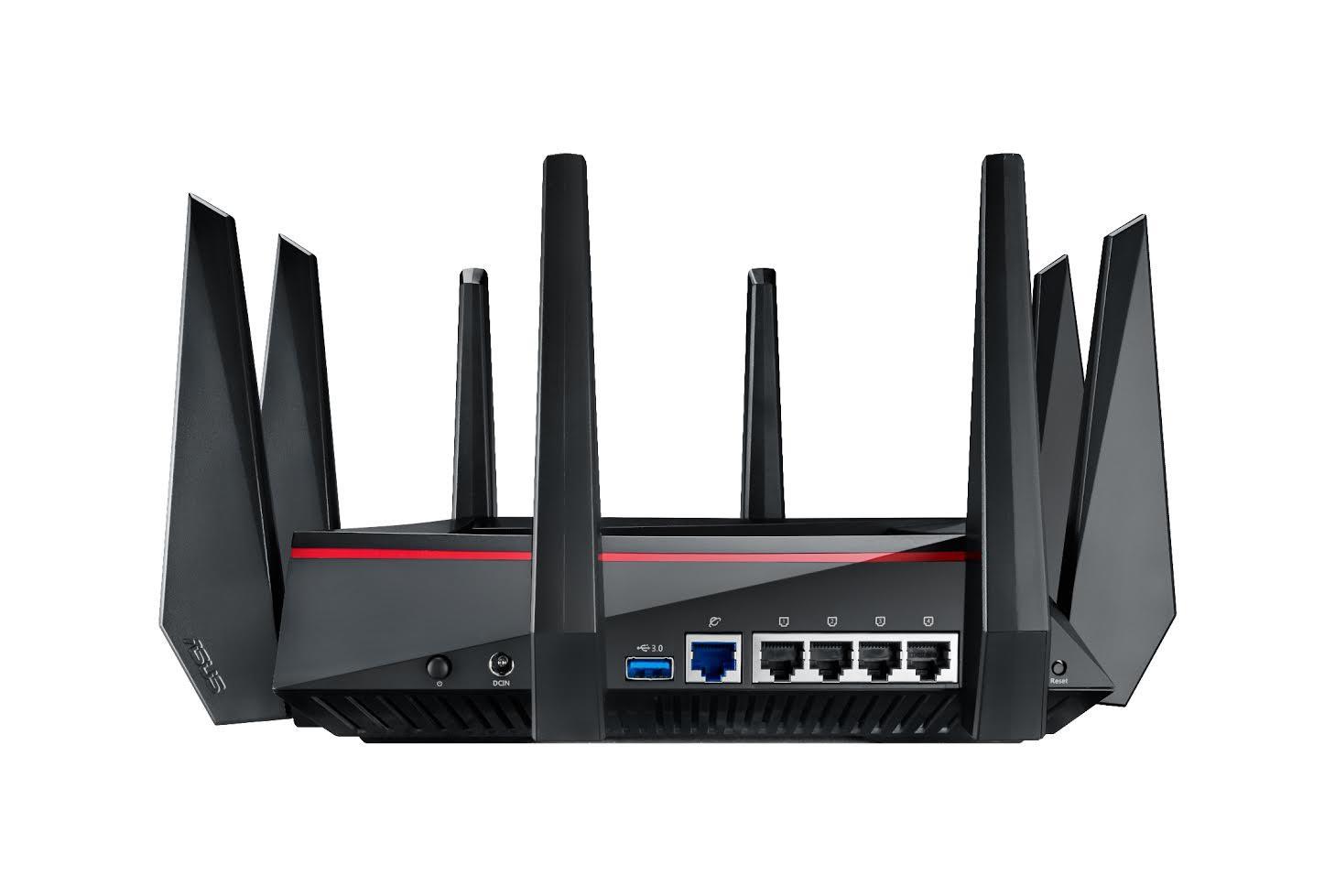 華碩的八爪章魚路由器 RT-AC5300 在台推出,具雙 4x4 天線與最快達 5334Mbps WiFi 速度 - 癮科技
