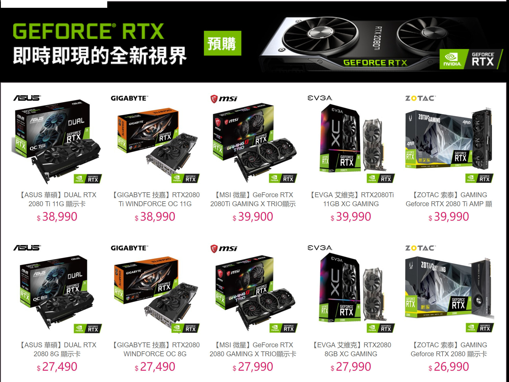 , Nvidia, Graphics Cards & Video Adapters, Graphics processing unit, Turing, Pascal, XG Station, , Nvidia Quadro, GeForce 10 series, geforce, product, technology, electronics, product, electronics accessory, multimedia, font, brand, gadget, GeForce