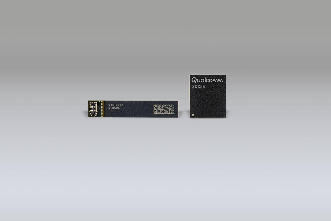 Qualcomm Snapdragon, Modem, , Qualcomm, Mobile Phones, 5G, LTE, 4G, 7 nanometer, Gigabit per second, Qualcomm Snapdragon, Material property, Technology, Electronic device