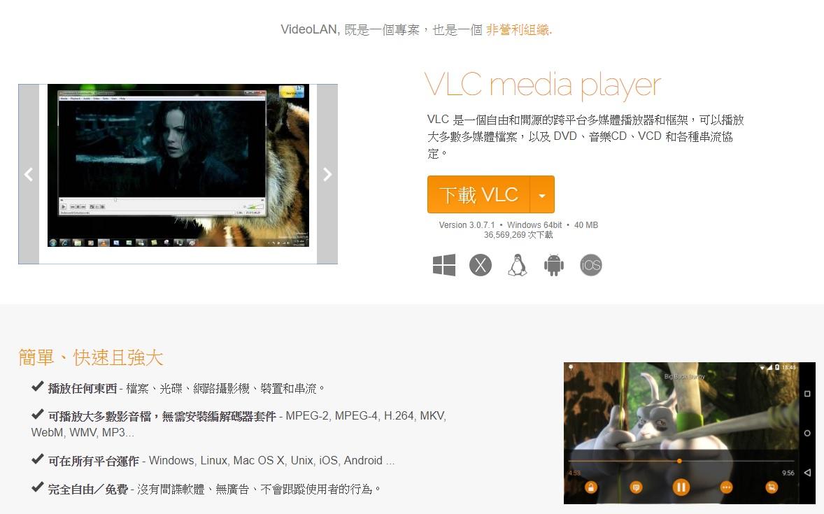 廣受歡迎的開源播放軟體 VLC Player 傳舊版本有嚴重漏洞,駭客可藉此入侵電腦並大搞破壞