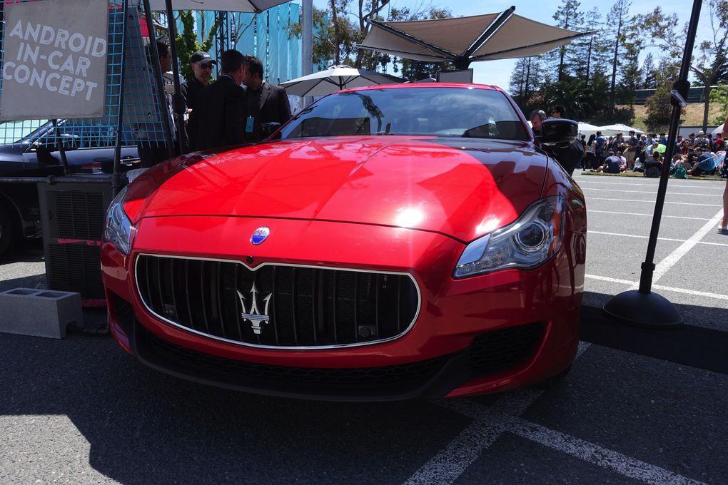 是Google IO 2016 :高通與 Google 攜手以 Maserati Ghibli 展示 Android Auto這篇文章的首圖