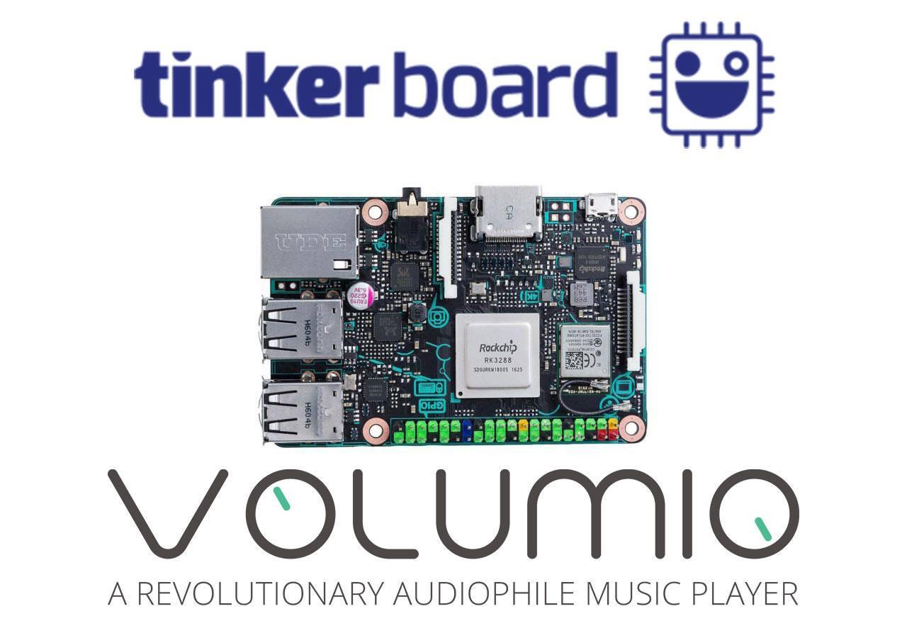 是知名 Linux 音樂播放系統 Volumio 宣布支援華碩 Thinkerboard ,不過尚未能支援 I2S DAC這篇文章的首圖