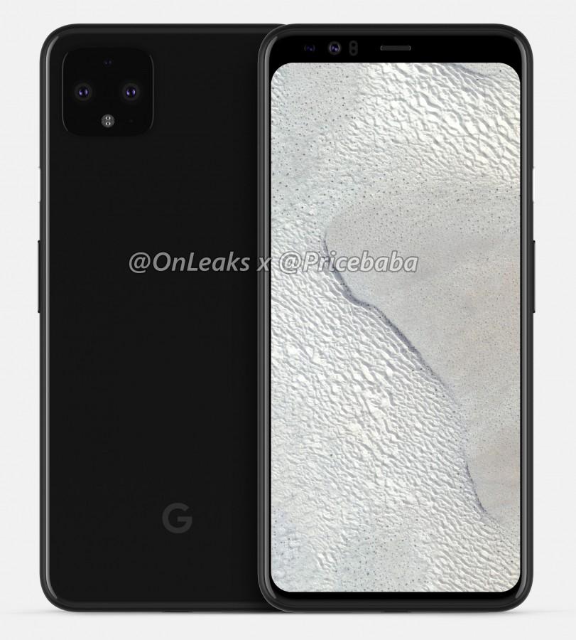 爆料專家貼出 Google Pixel 4 XL 外觀模擬圖,螢幕未開孔、未凹陷、保留傳統頂部邊條設計
