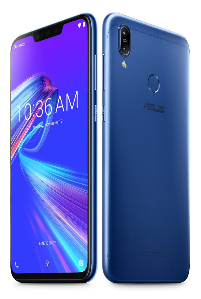 ASUS ZenFone Max Pro (ZB602KL), Asus ZenFone 5Z, ASUS ZenFone Max Plus (M1), ASUS ZenFone Max, , Asus, ASUS ZenFone Max (M1), Asus ZenFone Lite L1, Smartphone, Qualcomm Snapdragon, ASUS ZenFone Max Pro (ZB602KL), mobile phone, gadget, product, feature phone, telephony, portable communications device, electric blue, communication device, technology, mobile phone accessories