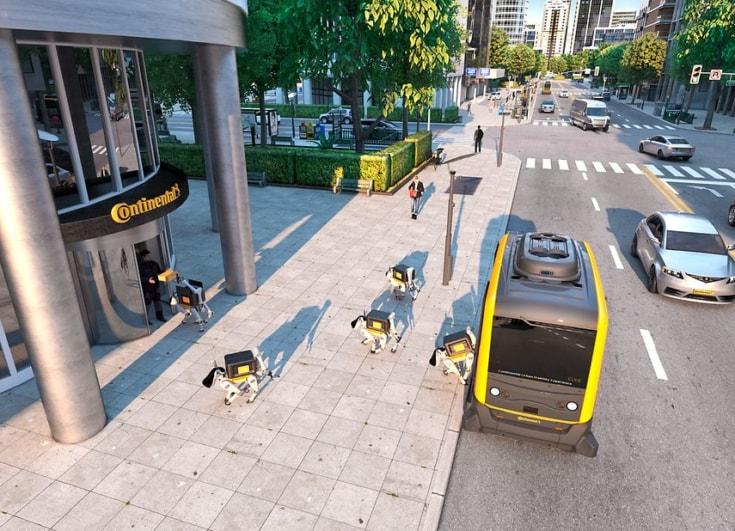 Car, Dog, Robot, Autonomous robot, Self-driving car, Luxury vehicle, Robotics, , Robotic pet, Vehicle, Robot, motor vehicle, car, yellow, transport, vehicle, mode of transport, metropolitan area, lane, luxury vehicle, family car
