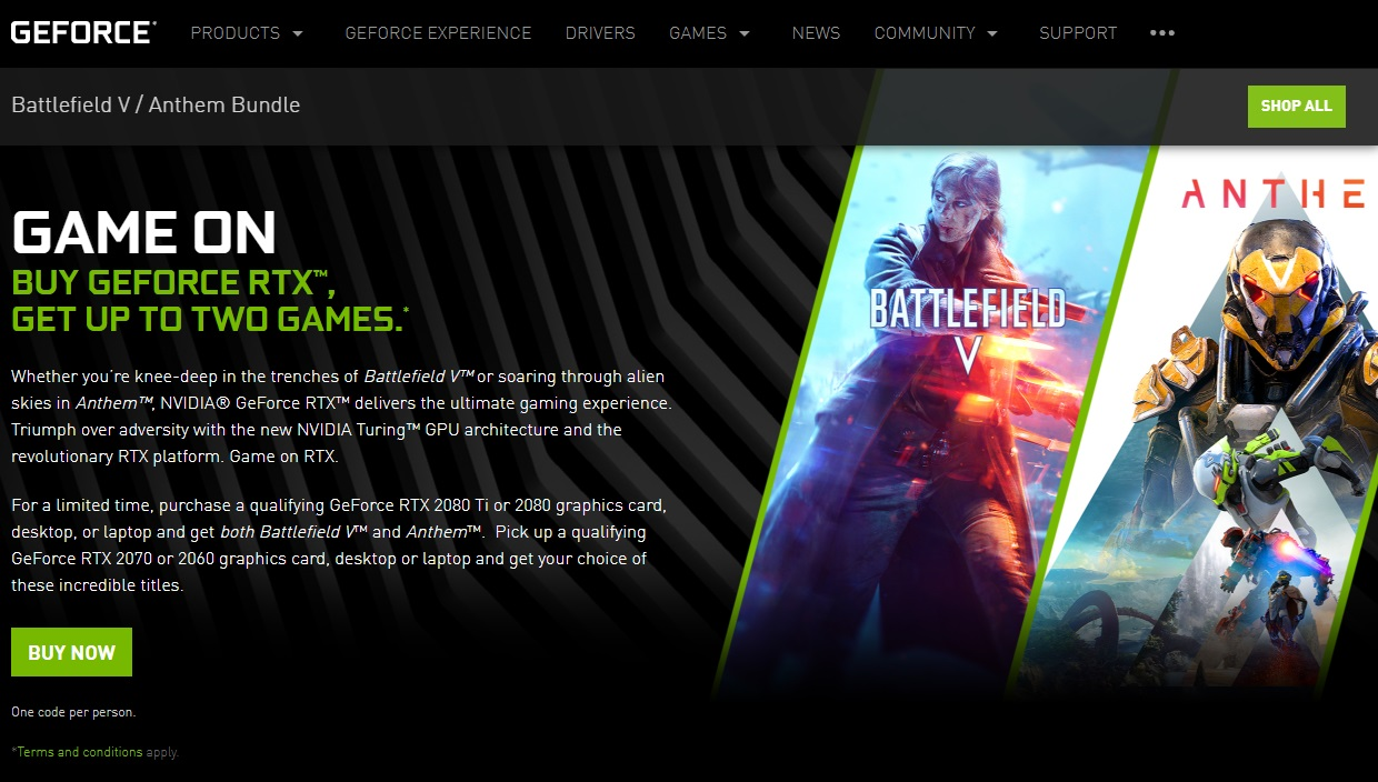Battlefield V, Anthem, Graphics Cards & Video Adapters, Video Games, Nvidia RTX, GeForce 20 series, Gaming computer, NVIDIA GeForce RTX 2080 Ti, Laptop, , anthem game, Action-adventure game, Text, Games, Pc game, Graphic design, Screenshot, Font, Fictional character, Graphics, Advertising