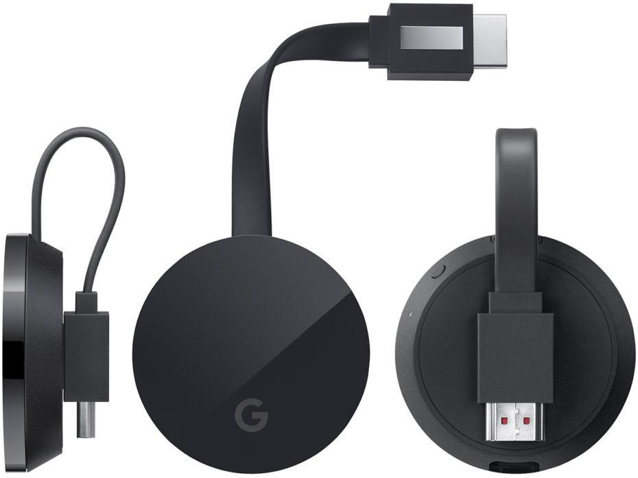 是可串流 4K 內容的 Google Chromecast Ultra 應該就是長這樣了這篇文章的首圖