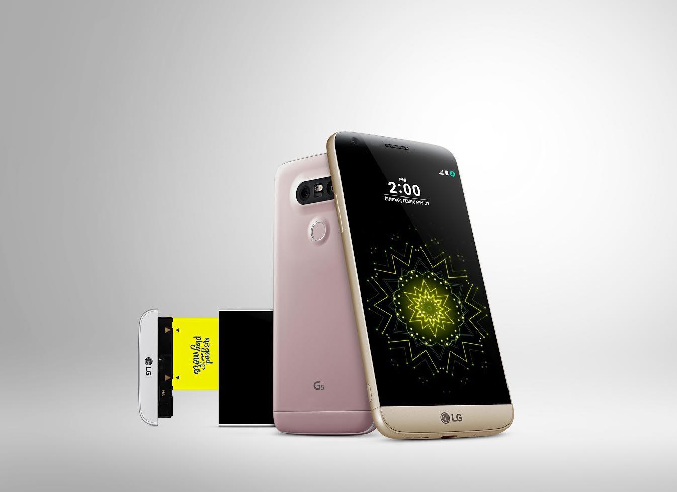 是MWC 2016 :以創意模組設計使手機有更多面向, LG 發表 G5這篇文章的首圖
