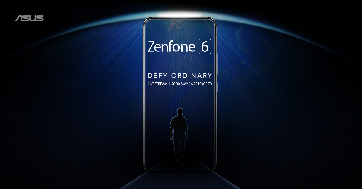 ASUS ZenFone 6 (A601CG), ASUS, Asus ZenFone 5Z, Smartphone, , Qualcomm Snapdragon, Asus, Dual SIM, Teaser campaign, No, computer wallpaper, Text, Product, Darkness, Design, Sky, Electric blue, Brand, Advertising, World, Graphic design