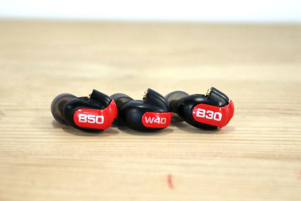Westone B50 、 B30 、 W40 動手玩,經典再造、風格差異更顯著