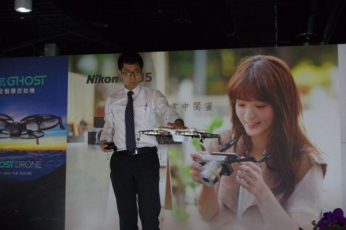 跟進空拍熱,國祥貿易宣布在台推出億航 Ghost 空拍機 - 癮科技