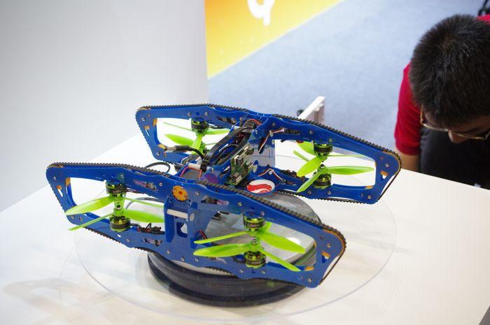 是高通推出針對高階無人機參考設計平台 Snapdragon Flight ,基於 Snapdragon 801 並強調具 4K 錄影能力這篇文章的首圖