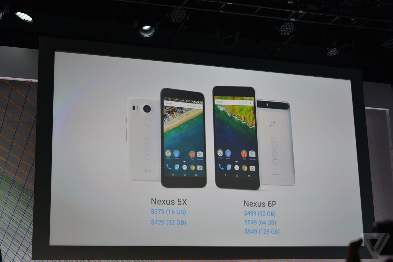 是新一代 Google Android 6.0 展示機登場, Nexus 5X 、 Nexus 6P 大小雙機滿足不同市場需求這篇文章的首圖