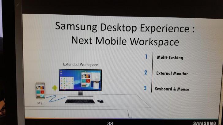 是外接螢幕後將可當小電腦使用?傳三星 Galaxy S8 將提供 Samsung Desktop Excperience這篇文章的首圖