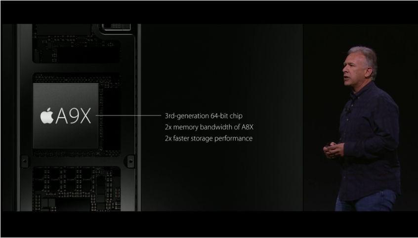 是iPad Pro 的 A9x 處理器號稱效能強過多數的行動設備這篇文章的首圖