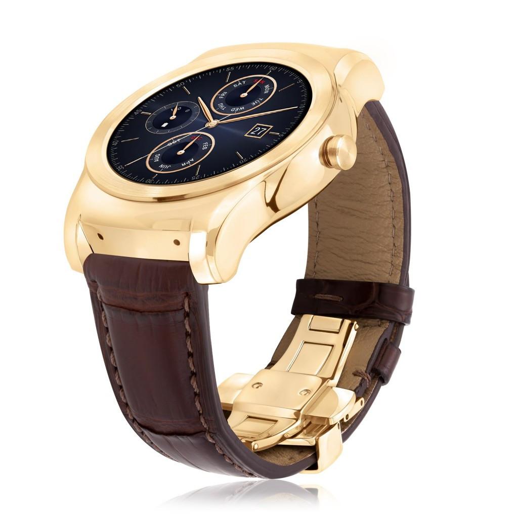是LG 加入壕野人智慧錶大戰,發表採用 23K 金的 Urbane Luxe這篇文章的首圖