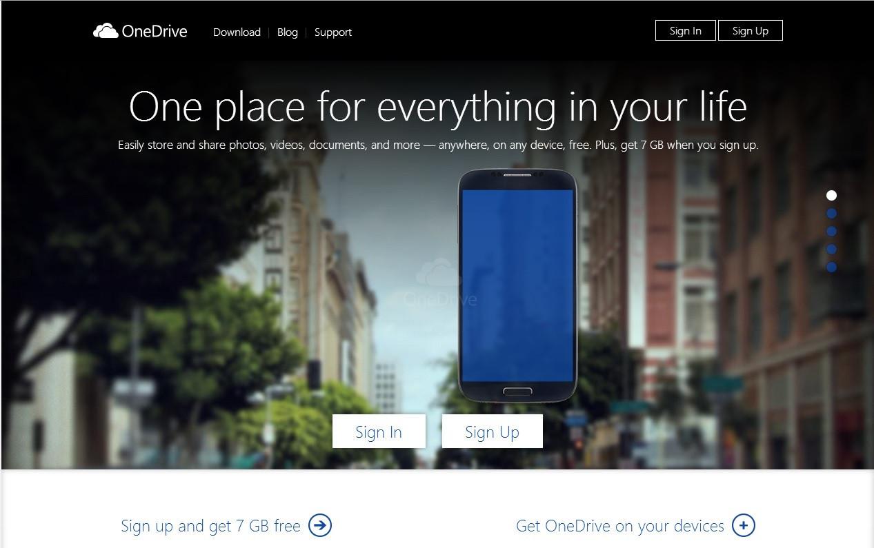 是微軟宣布 SkyDrive 改名 OneDrive 服務,前十萬名註冊者可獲一年份 100GB 空間這篇文章的首圖