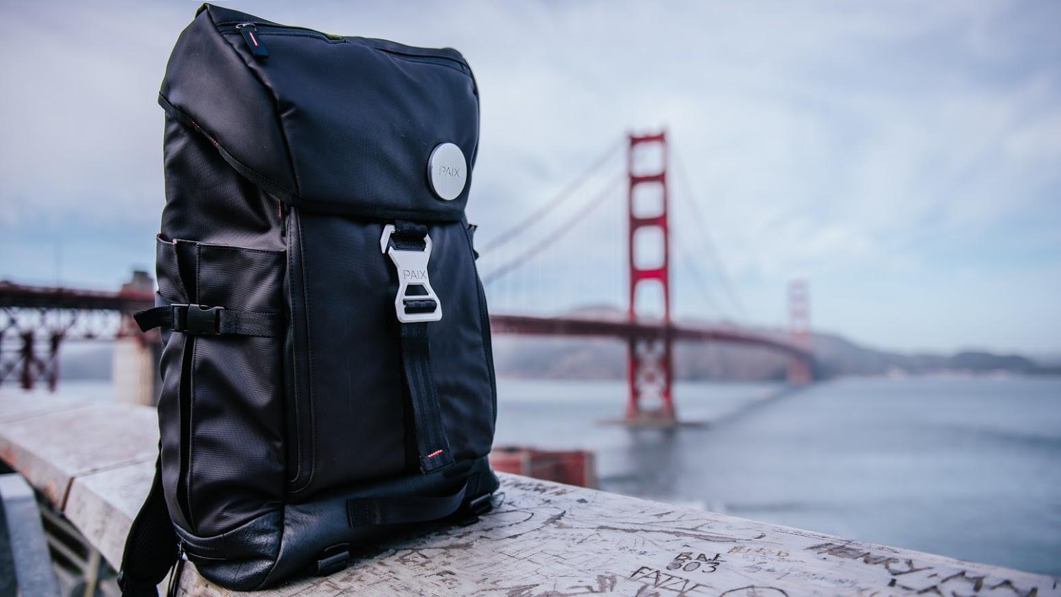 是強調環保且為都會騎士設計,台美團隊攜手打造的 BackPAIX 智慧背包將登上群募平台這篇文章的首圖