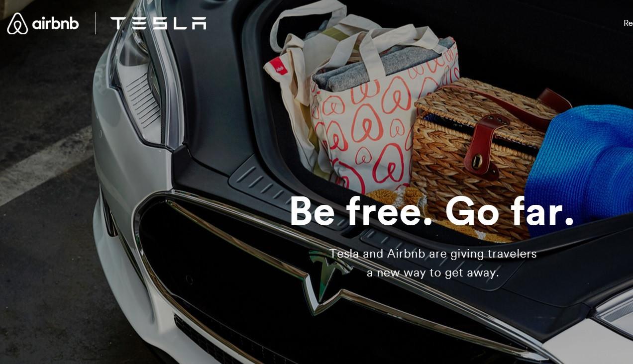 是Tesla 與 Airbnd 攜手合作,讓車主不用擔心旅行中的充電問題這篇文章的首圖