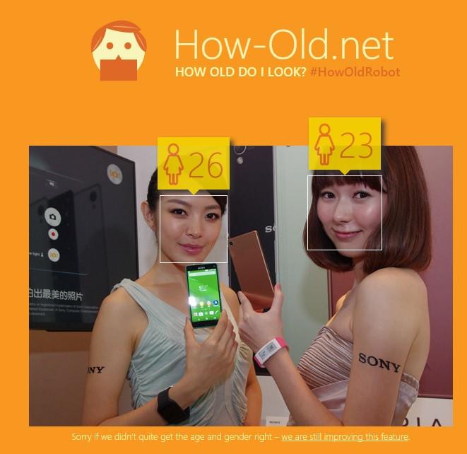 不準真的不用錢!微軟推出照片年齡判讀網站 How