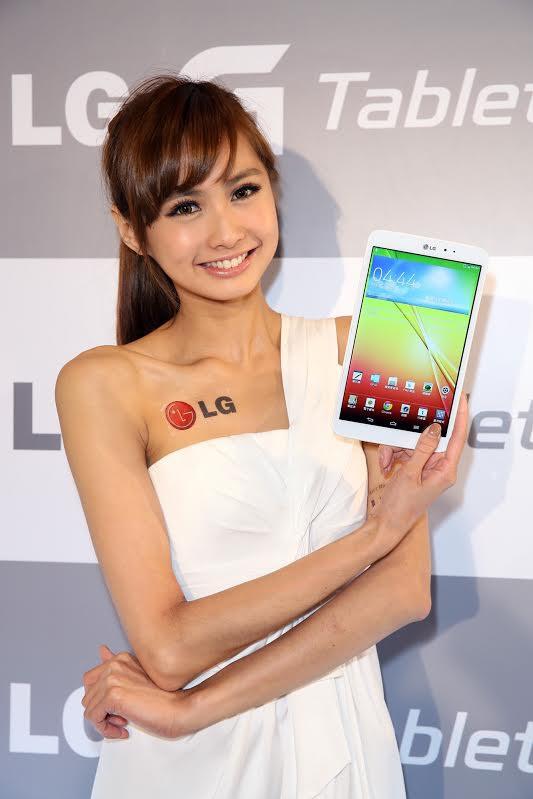 是LG 在台推出 G Tablet 8.3 ,主打一手掌握的極窄邊框設計這篇文章的首圖