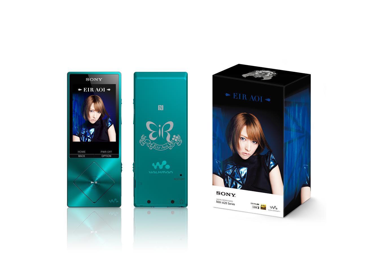是Sony Walkman NW-A25 藍井愛露特別版開放預購,具主題設計外還附贈 MEMORIA Hi-Res 版單曲這篇文章的首圖