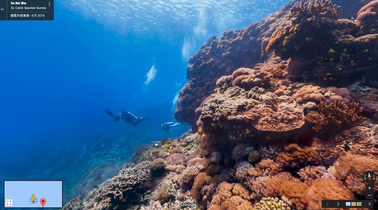 是Google 街景前進台灣海底世界,不僅紀錄海洋之美更希望喚醒民眾對生態保育的重視這篇文章的首圖