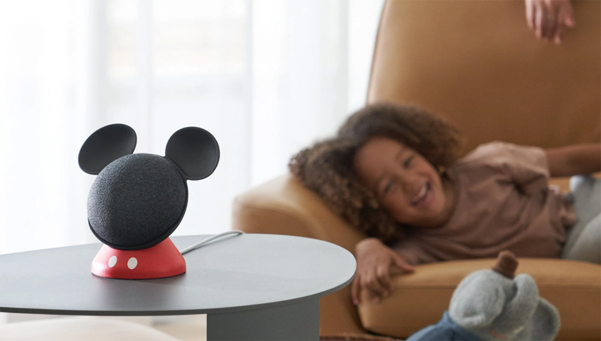 Google與迪士尼合作推出米奇造型Home Mini底座