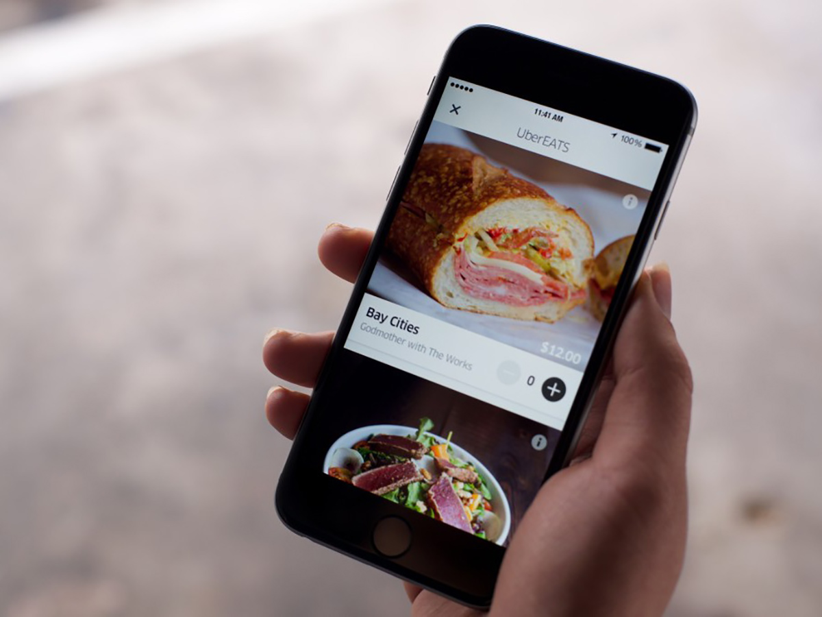 , Uber, Food delivery, Uber Eats, Mobile app, Delivery, Online food ordering, Restaurant, Meal delivery service, Company, uber eats, electronic device, mobile phone, gadget, technology, communication device, smartphone, portable communications device