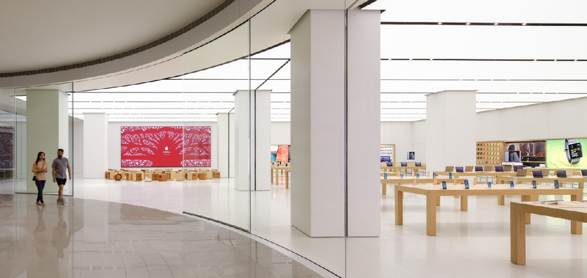 , Apple, , , 苹果直営店, Apple Store, , Apple Store, , , Apple, exhibition, tourist attraction, interior design, museum, lobby, art gallery, daylighting