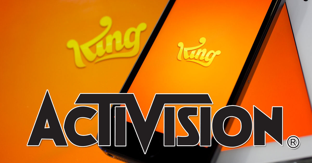 是Activision以美金59億買下製作Candy Crush之遊戲公司King Digital Entertainment這篇文章的首圖