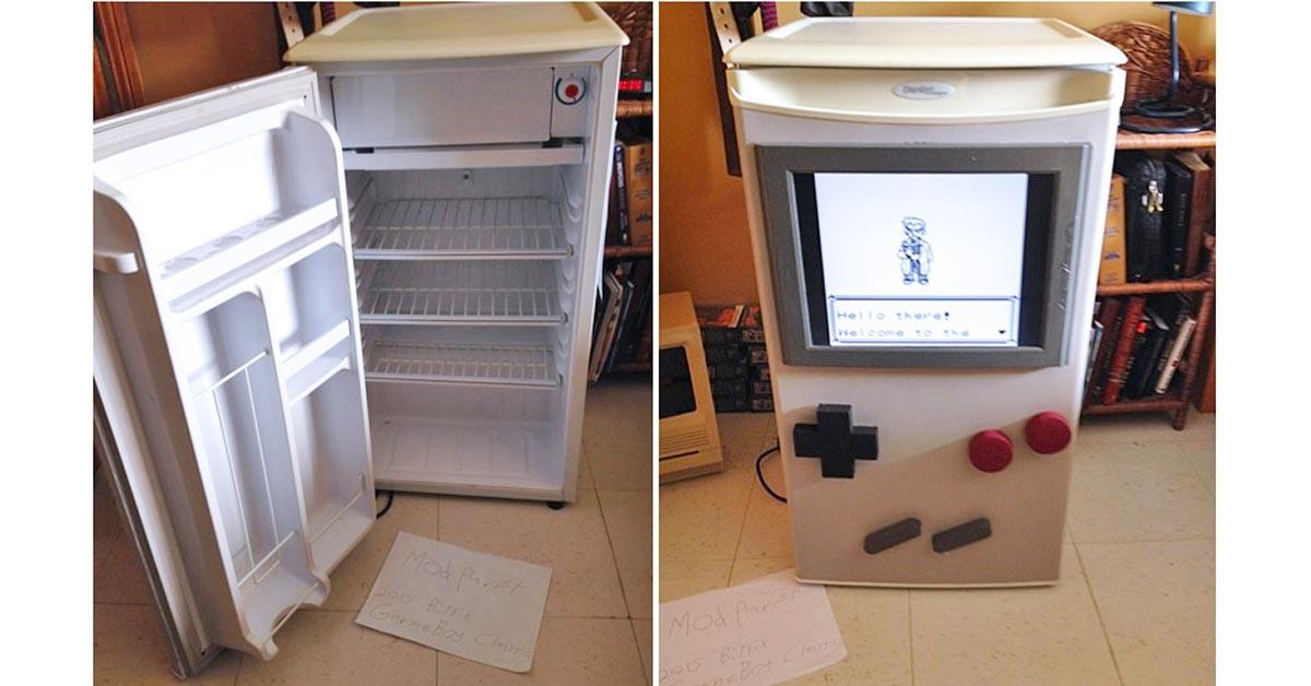 是親愛的,你看,我真的把冰箱變成Gameboy了!這篇文章的首圖