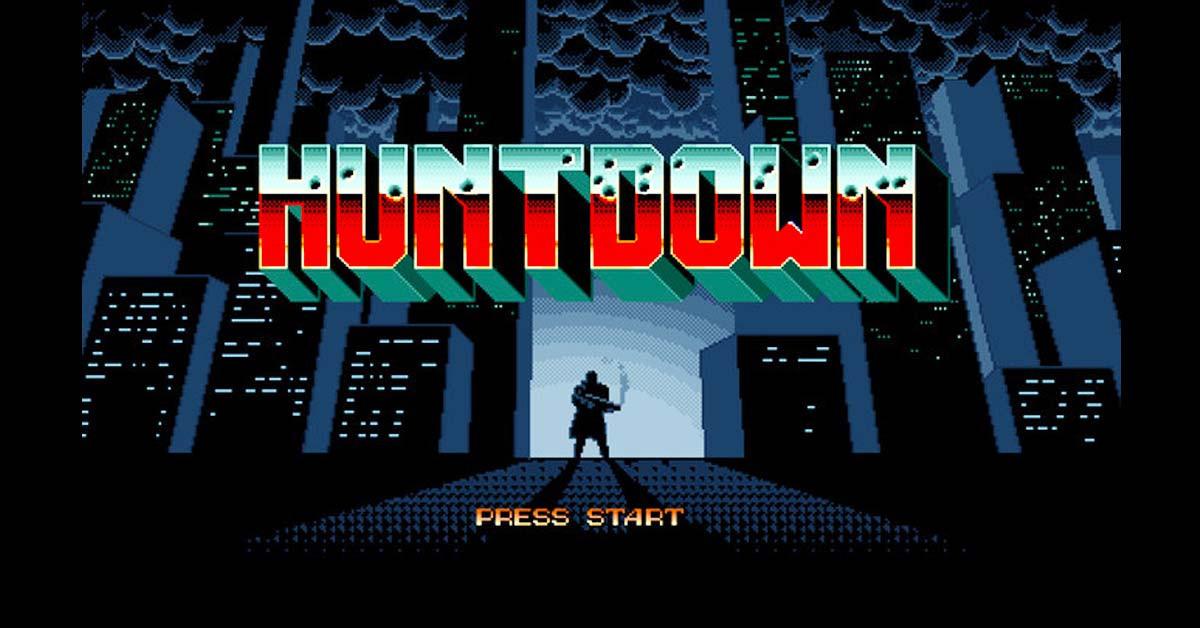 是[E3 2016]16位元風格的硬派2D動作射擊遊戲《HUNTDOWN》將於2016年上市這篇文章的首圖