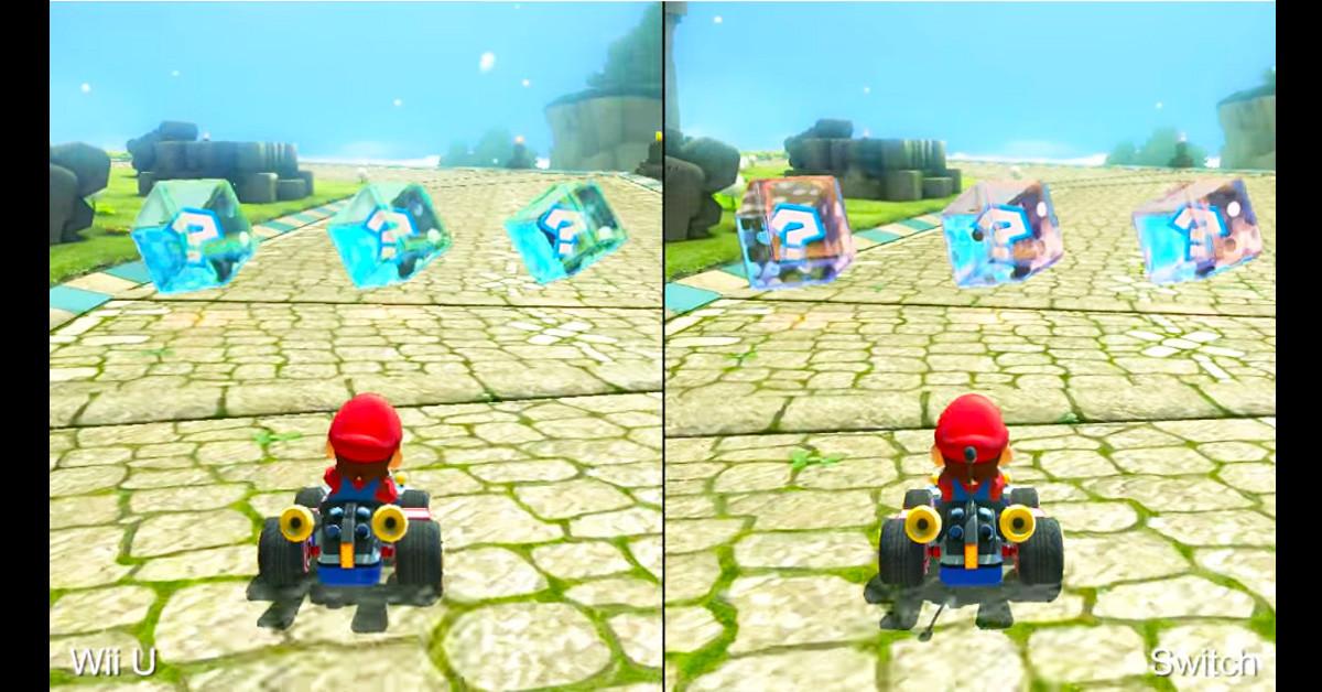 是瑪利歐賽車8豪華版 SWITCH vs Wii U 畫面比一比這篇文章的首圖