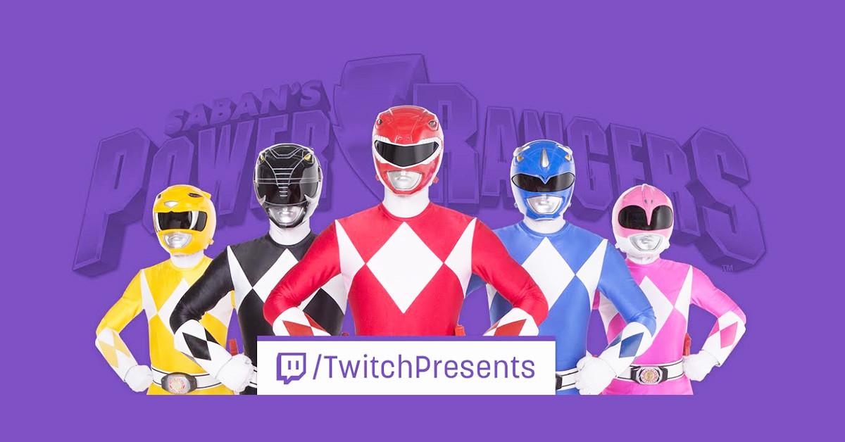 是Go Go Power Rangers! 經典影集金剛戰士將於Twitch上連續17天熱烈播映這篇文章的首圖