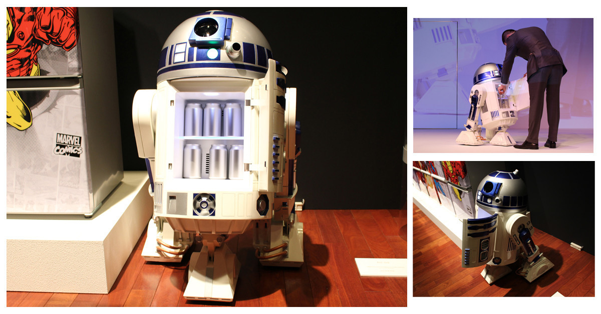 是星戰迷們絕對要敗!日本Haier Asia將於明年發售R2-D2型移動式冰箱這篇文章的首圖